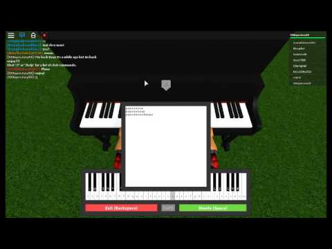 Roblox Piano Let Her Go Sheets - roblox piano let her go