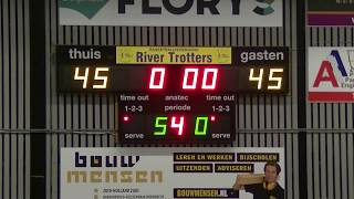 5 october 2019 Rivertrotters MSE2 vs LUSV basketbal MSE1 59-55 3rd period
