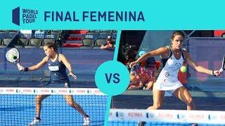 Resumen Final femenina Salazar/Sánchez Vs Josemaría/Nogueira Cervezas Victoria Mijas Open