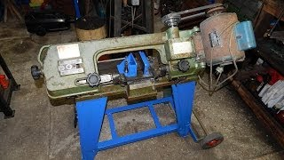 My $85 4x6 Metal Bandsaw - Restoration