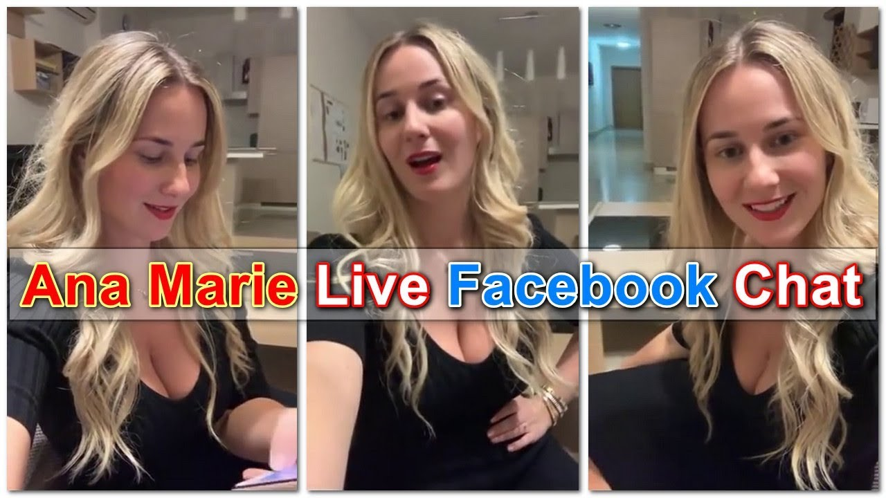 Ana Marie Live Facebook Chat || Girl From USA