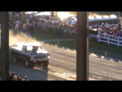 Skowhegan, Maine Truck Pull 2013