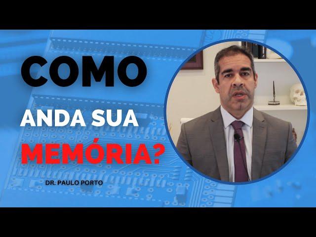 COMO ANDA SUA MEMÓRIA? #MEMORIA #ESQUECIMENTO #ALZHEIMER