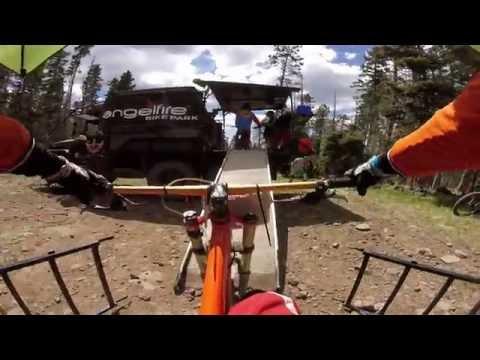 Angel Fire bike park 2016 race run