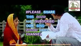 TERE NAAM Hindi karaoke for female singers with lyrics (ORIGINAL TRACK)