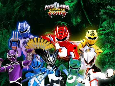 Power Rangers Jungle Fury Instrumental