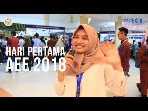 Hari Pertama : Airlangga Education Expo 2018