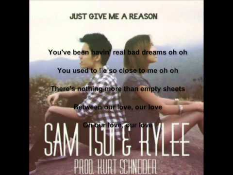 Sam Tsui ft Kylee - Just Give Me A Reason