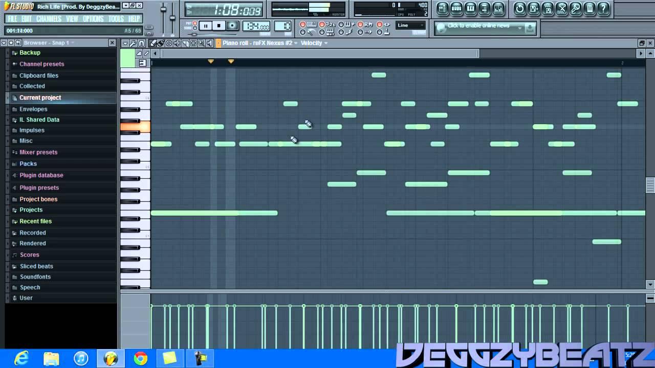 *HOT* Fl Studio 10 Tutorial - Making a Young Chop , Chief ...