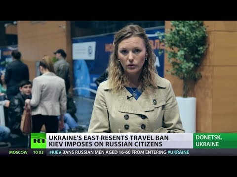 Girls only! Ukraine imposes travel restrictions on Russian men
