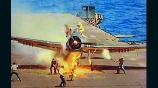 米戦闘機 空母着艦事故 太平洋戦争