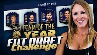 FULL TEAM OF THE YEAR FUT DRAFT CHALLENGE! FIFA 18