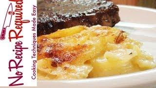 Potato Dauphinoise - NoRecipeRequired.com