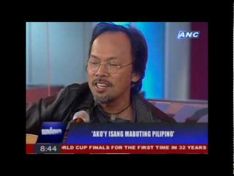 Noel Cabangon on THE RUNDOWN, July 7, 2010 (Part 2 of 2)