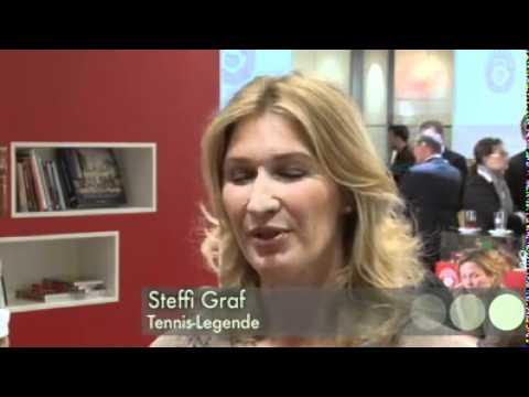 Steffi Graf bei einem PR-Termin in Berlin (29.09.2011)