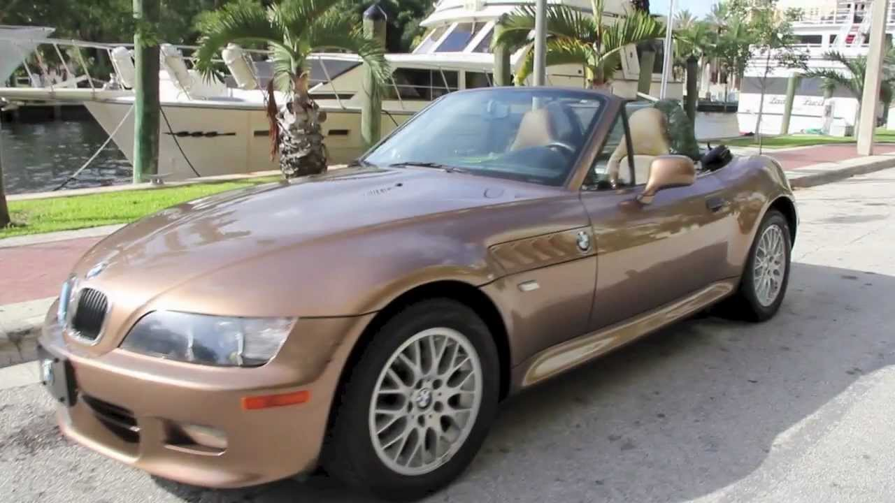 2000 bmw z3 with only 22k miles youtube. Black Bedroom Furniture Sets. Home Design Ideas