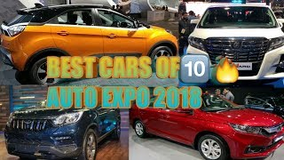 Top 10 Best cars of AUTO EXPO 2018 INDIA / UPCOMING cars in india [ Car Guru ]