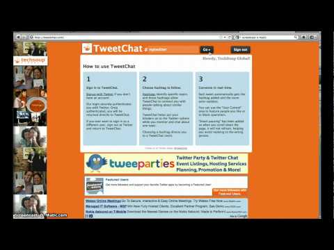 How to Participate in Live Twitter Chat