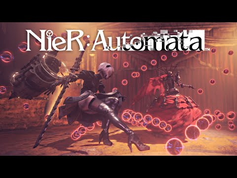 NieR Automata Boss Battle Theme Extended (w/SFX)