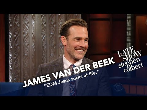 James Van Der Beek Explains Diplo To Stephen