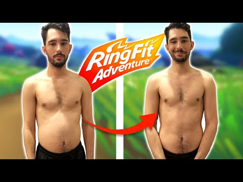 We Work Out With Nintendo Ring Fit Adventure For 30 Days