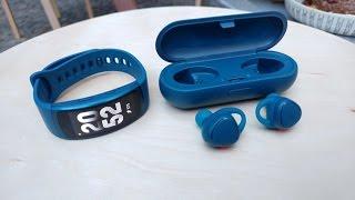Samsung Gear Fit2 & IconX ausprobiert   Hands On   deutsch