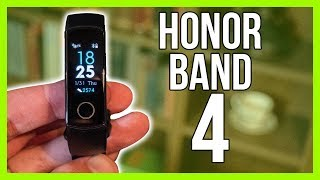 Huawei Honor Band 4 Review - A Cheap AMOLED Smartwatch!?