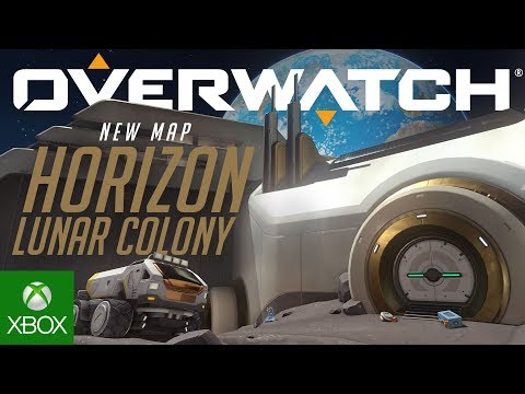 Overwatch – New Horizon Lunar Colony Map Is Now Live on Xbox One!