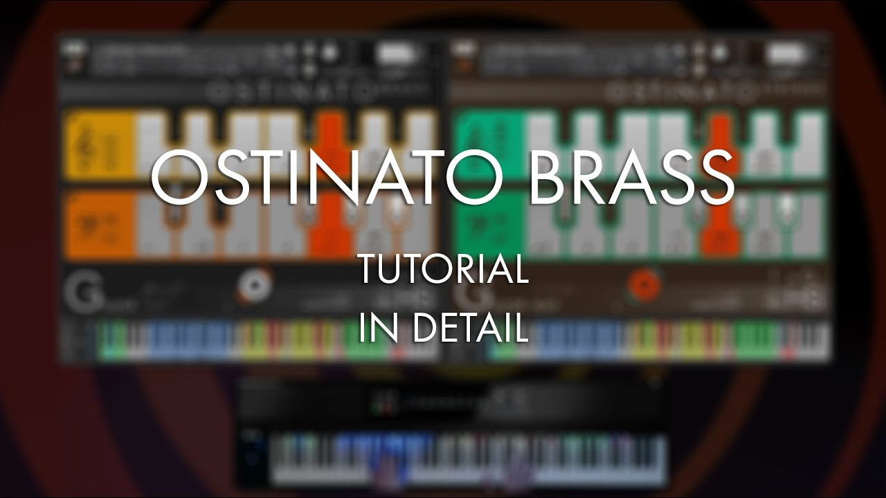 Ostinato Brass - Sonokinetic - Sample libraries and Virtual