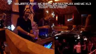 Majestic feat. MC Sheep, Mr.Multiplex and MC XL3 @  Dutch Junglists Kick-off (9-5-2014)