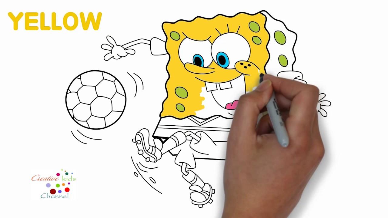 Mewarnai Spongebob Squarepants Youtube