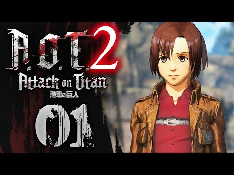 THERE'S CHARACTER CUSTOMIZATION! - Attack On Titan 2 Gameplay Walkthrough #01 w/ NumbNexus
