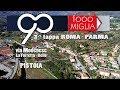 Mille Miglia 2017- PISTOIA- tappa Roma Parma 1000 miglia- Ferrari Jaguar Alfa Romeo Bentley Balilla