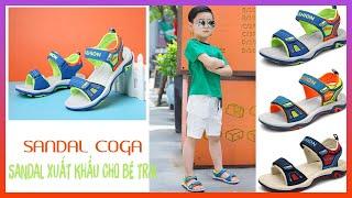 🌼 Sandal Bé Trai chính hãng Coga - Sandal bé trai xuất khẩu (ZALO: 0934.28.2018)