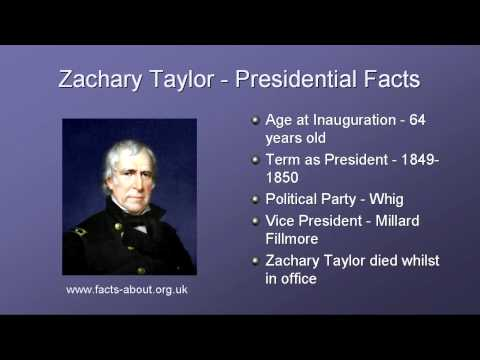 President Zachary Taylor Biography