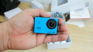 SJCAM SJ4000 - Câmera de ação barata (Unboxing)
