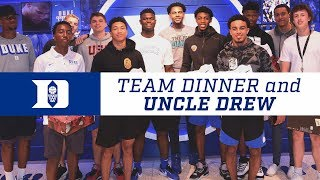 "Duke Basketball Team Dinner and ""Uncle Drew"" (7/6/18)"