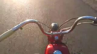 ПОКАТУШКИ НА МОПЕДЕ РИГА БЕЗ РУК No Hands RIGA 13 Pokatushki on a moped without hands