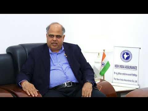 Mr. G. Srinivasan, CMD, New India Assurance Ltd. #ShippingConference2018