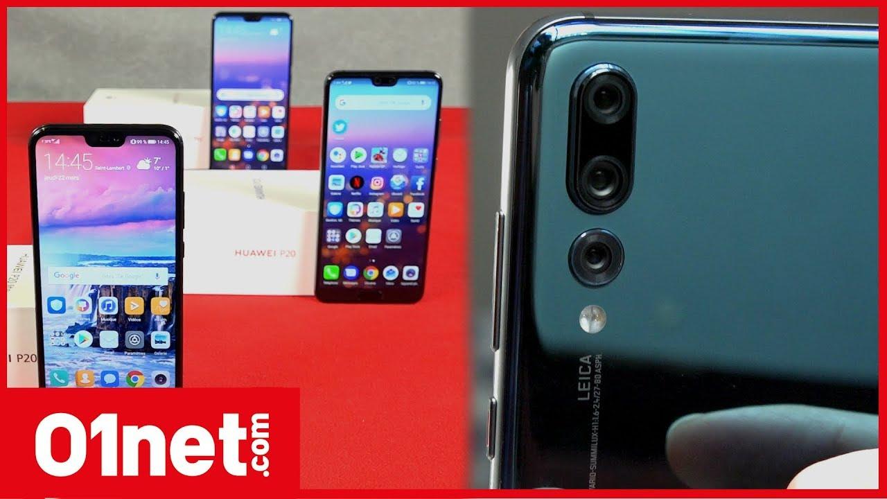 Huawei présente les P20, P20 Pro et P20 Lite, qui pourraient faire de l'ombre à Samsung