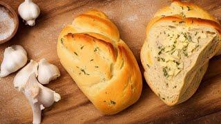 ХЛЕБ ВЗБУДОРАЖИЛ ВСЕХ Рецепт итальянского хлеба с сырно чесночной начинкой ФОКАЧЧА из Италии