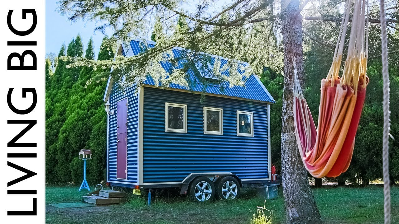 This Super Compact Tiny House Is Australia S First Tiny