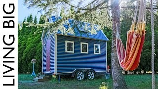 This Super Compact Tiny House Is Australia's First Tiny Home On Wheels