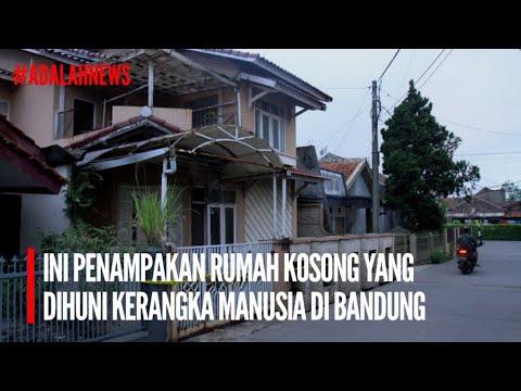 FULL VIDEO: Penampakan Rumah Kosong Yang Dihuni Kerangka Manusia Di Sukamenak Margahayu Bandung