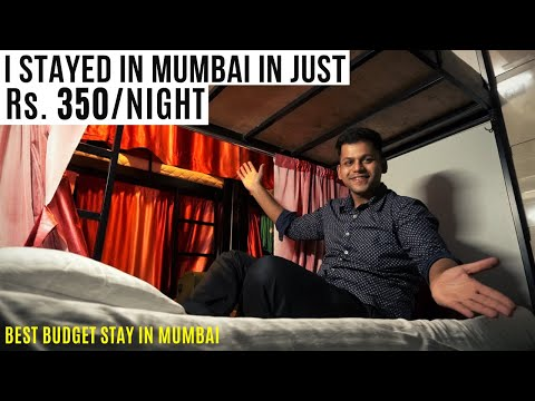 I Stayed In Mumbai In Just Rs. 350/night | Cheap Hotels In Mumbai