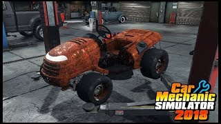 Car Mechanic Simulator 18 - BUILDING A MUD MOWER