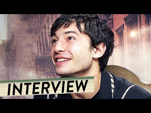 Ezra Miller, Dan Fogler & Alison Sudol   Interview zu Phantastische Tierwesen  + Trailer Deutsch