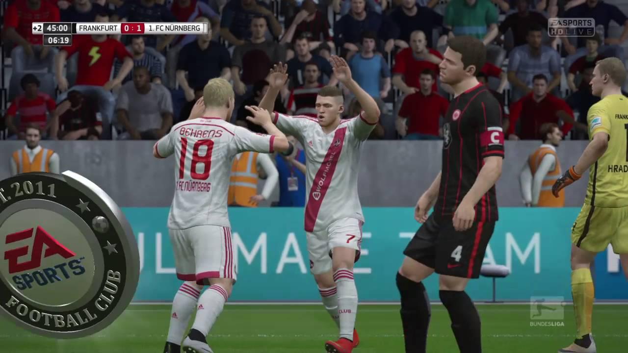 Relegation Frankfurt NГјrnberg