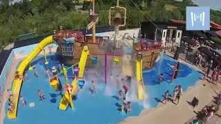 De nieuwe waterspeeltuin op Ardoer Vakantiepark de Meerpaal