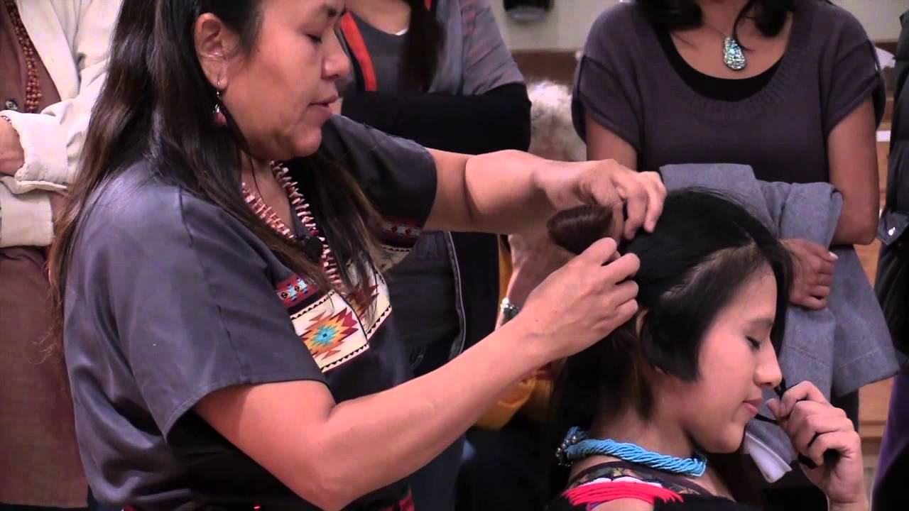Traditional Hopi Hairstyle At Miac